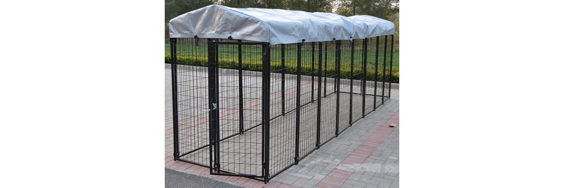 Dog Kennel  4' W x 16' L x 5.5' H